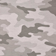 Sweatstoff French Terry Camouflage, beige braun