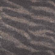 Blusenstoff Zebramuster Glitzer, braun schwarz