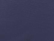 Bündchenstoff Meterware Glattstrick uni, nachtblau