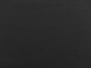 Glattes Bündchen - schwarz
