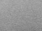 Glattes Bündchen - mittelgrau melange