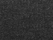 Allegra Viskose Jersey, schwarz melange