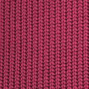 Strickstoff Baumwolle Halbpatent gerippt, dunkel bordeaux