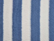Frottee Streifen, jeansblau cremeweiss