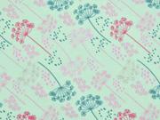Jersey Pusteblumen, rosa mint