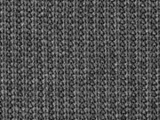 Strickstoff Baumwolle gerippt, anthrazit