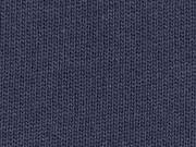Strickstoff Baumwolle Meterware uni, dunkelblau