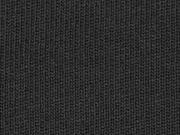 Strickstoff Baumwolle Meterware uni, schwarz