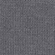 Strickstoff Baumwolle Meterware uni, dunkelgrau