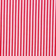 Baumwollstoff Streifen, rot weiß