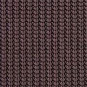 Strickstoff Baumwolle Halbpatent gerippt, dunkelbraun