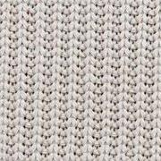 Strickstoff Baumwolle Halbpatent gerippt, natur