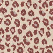 Baumwollstoff Leoparden Muster, braun beige