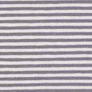 Jerseystoff Streifen 3 mm, grau hellgrau