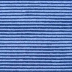Jerseystoff Streifen 3 mm, dunkelblau hellblau