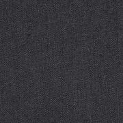 Leinenstoff gewaschen uni, schwarz