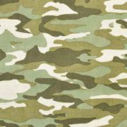 Baumwollstoff Camouflage, grün beige