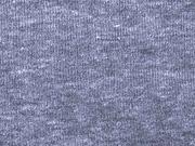 RESTSTÜCK 87 cm Sweat angeraut, graublau melange