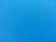 RESTSTÜCK 49 cm beschichtete Baumwolle uni kräftiges blau