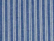 RESTSTÜCK 29 cm leichter Jeans doppelte Streifen, dunkelblau