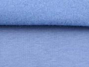 dicker Sweat angeraut,  kräftiges hellblau (eisblau)
