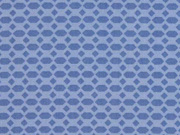 Baumwolle Waben Rauten, jeansblau