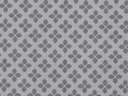 Baumwolle Kreuzblume, grau