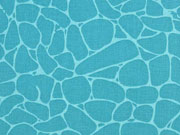 Baumwolle grafisches Muster Steine, petrol