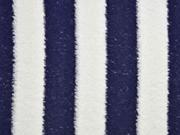 Frottee Streifen, dunkelblau cremeweiss