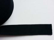 Gurtband - 4 cm breit, schwarz #14