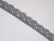 Klöppelspitze 10 mm, grau