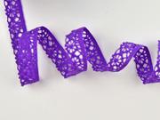 Klöppelspitze 10 mm, lila
