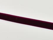 Samtband 10 mm breit, weinrot