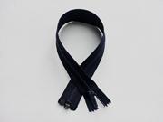 Reißverschluss 40  cm teilbar, dunkelblau