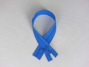 Reißverschluss 25 cm nicht teilbar, royalblau