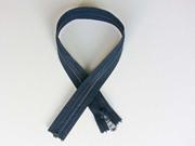 Reißverschluss 55 cm teilbar, dunkelblau