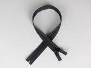 Reißverschluss 64 cm teilbar, schwarz