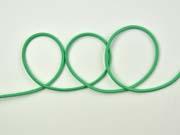 Gummikordel 3 mm, leuchtend grün