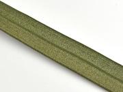 elastisches Falzband 18 mm, oliv