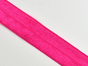 elastisches Falzband 18 mm, hot pink