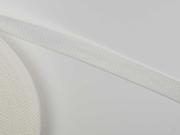Gurtband 2,5 cm (Polypropylen), cremeweiß