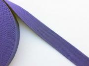 BW Polyester Gurtband 3,8 cm breit, lila