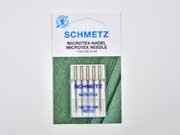 5 Schmetz Microtex Nadeln,Nadelstärke 80