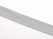 BW Polyester Gurtband 3 cm breit, helles steingrau