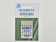 5 Schmetz Microtex Nadeln Stärke 70