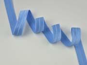 elastisches Falzband, hellblau