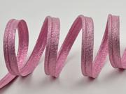 Paspelband uni, rosa metallic