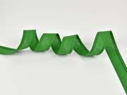 Schrägband 100% Baumwolle vorgefalzt, grasgrün