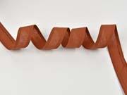 Schrägband 100% Baumwolle, dunkel terracotta