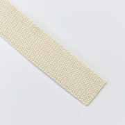 Gurtband Baumwolle 30 mm, natur